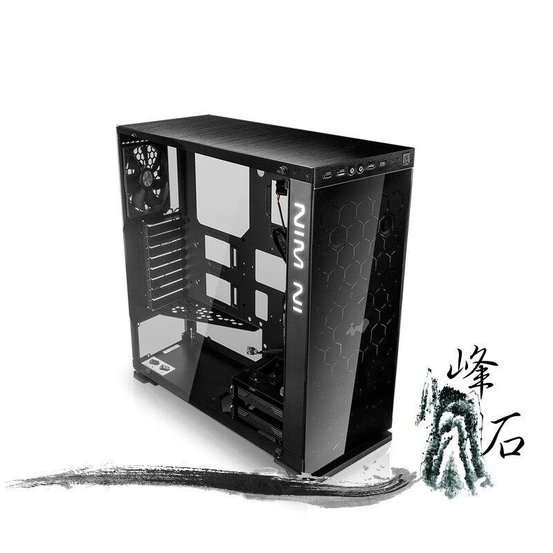 樂天限時優惠! 迎廣 IN WIN 805 旗艦版 (USB3.1) 黑色 電腦機殼