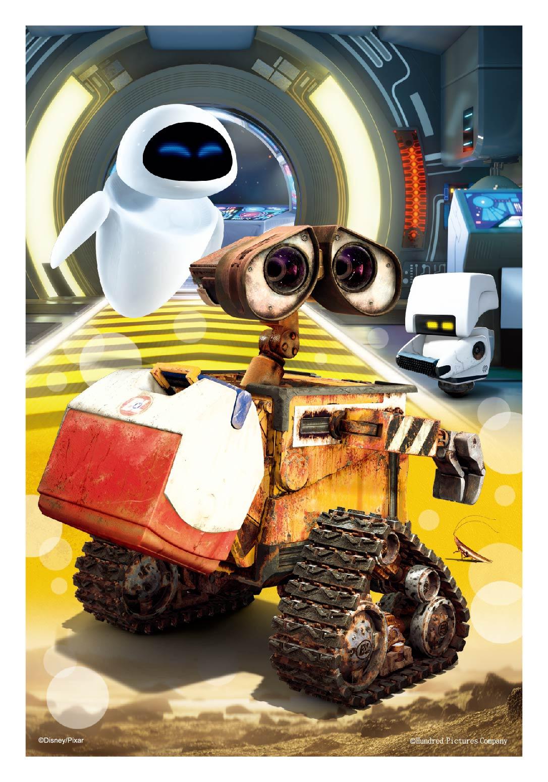 Wall-E 卡片&雙面拼圖30片
