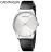 大台中時計 CALVIN KLEIN clssic too系列 極簡風格皮革腕錶 K4D211C6 -白 / 38mm - 限時優惠好康折扣