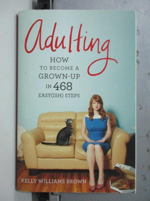 ~書寶 書T5/原文書_OCY~Adulting_Kelly Williams Brown