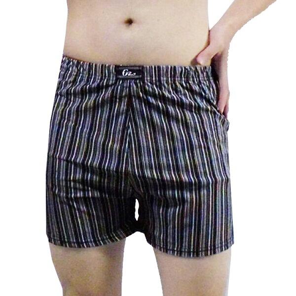 【MADONNA瑪丹娜】艾森豪涼感條紋平口褲12件組959(隨機選色)貼身內褲MLXL2L
