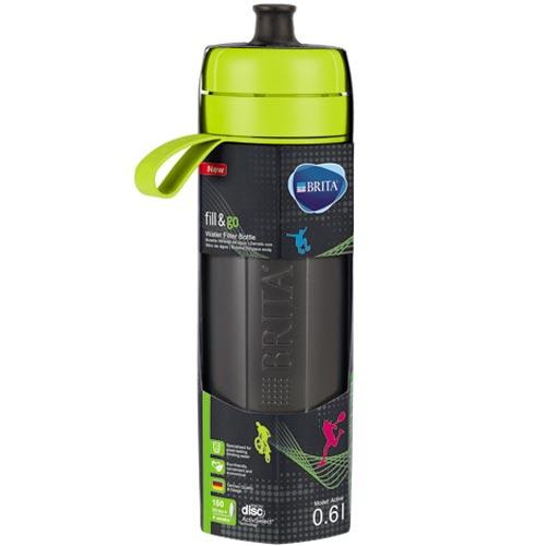 德國BRITAFill&GoActive運動濾水瓶萊姆綠色(內含濾片1片)