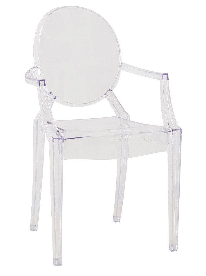 【石川家居】KF-992-2 艾迪透明扶手椅(不含其他商品) 需搭配車趟