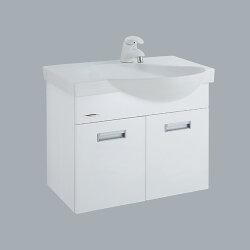 HCG臉盆浴櫃/不含水龍頭/L575SAdb+LCP575B