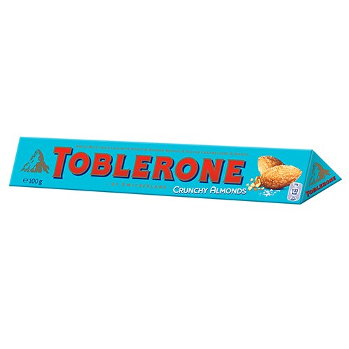 TOBLERONE瑞士三角巧克力鹹杏仁口味  100g【愛買】