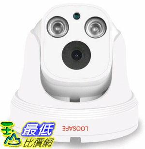 [106玉山最低網] 龍視安200萬半球網路攝像頭高清手機遠端監控器家用室內無內存容量 3.6mm 960P