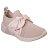 Shoestw【68849PNK】SKECHERS 健走鞋 MARK NASON 記憶鞋墊 休閒鞋 襪套 緞帶蝴蝶結 玫瑰粉 裸色 女生尺寸 0