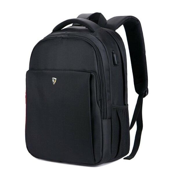 【加賀皮件】SUMDEX防盜USB充電防潑水可插拉桿多功能16吋商務電腦後背包後背包PON-1304