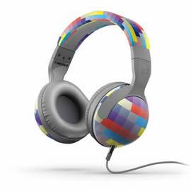 志達電子 S6HSDZ-224 彩格灰 美國 Skullcandy hesh 2 可換線式 耳罩式耳機 for HTC Motorola iPhone samsung Sony