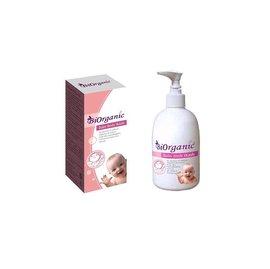 【淘氣寶寶】法國原料生產製造寶兒有機嬰兒沐浴精250ml【無人工色素、香精】