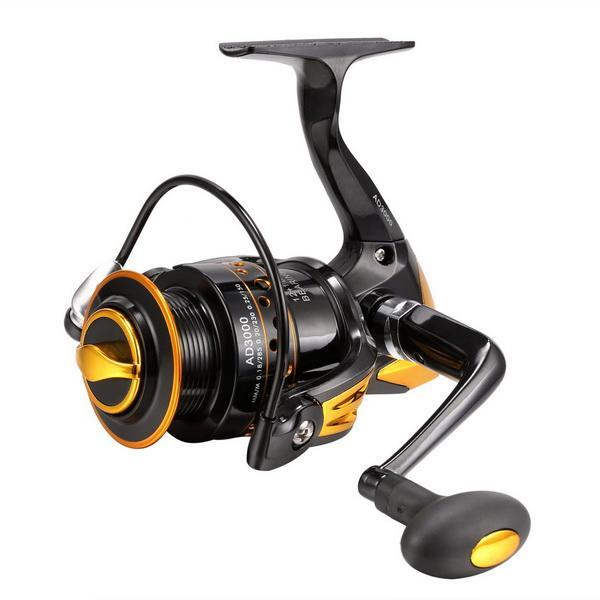 Fishing Reel Interchangeable Collapsible Handle Spinning 0