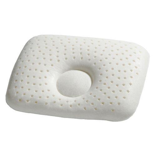 『121婦嬰用品館』狐狸村 乳膠嬰兒造型枕-米 2