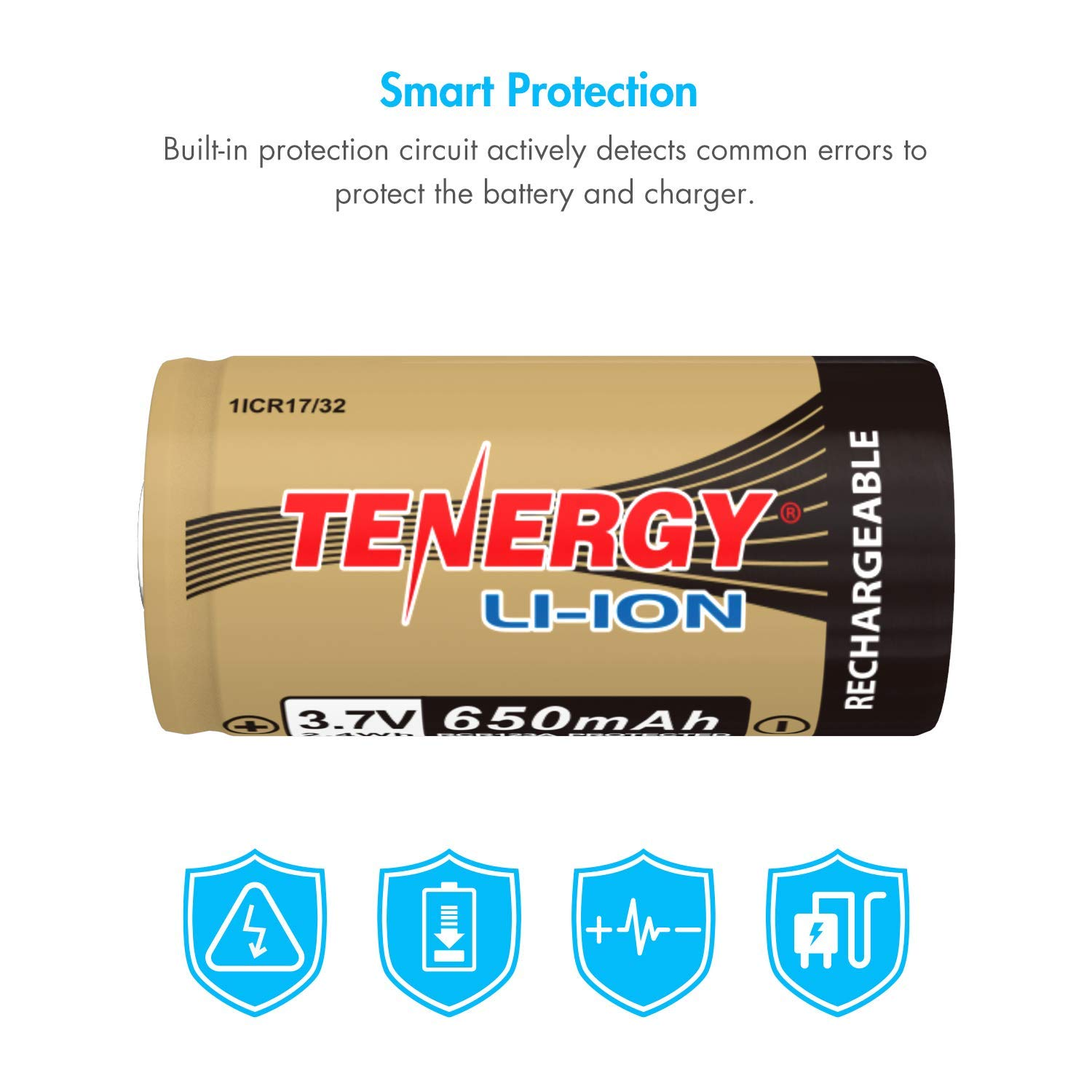 Tenergy Arlo Certified 37v Li Ion Rechargeable Battery Details About 3 X Case 18650 Box With Protection Circuit For Security Cameras