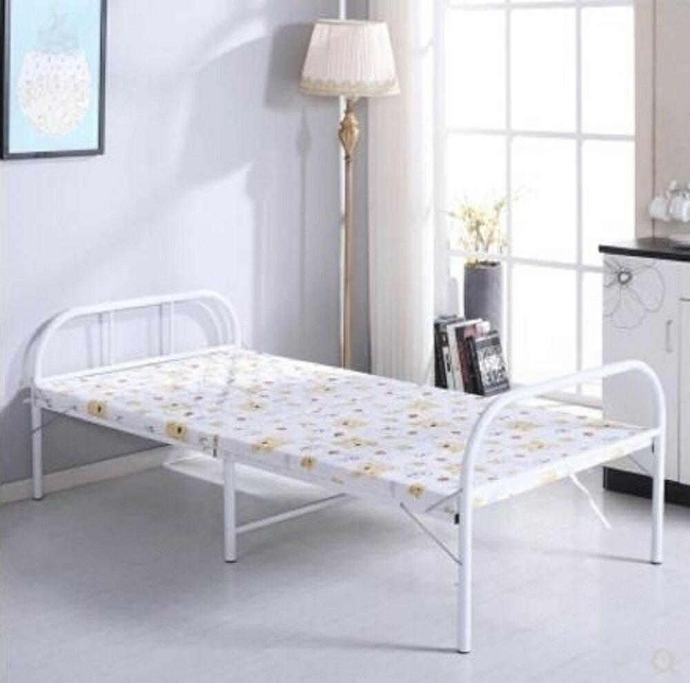 折疊床 折疊床單人板式床收縮床木板床午休床成人家用單人 艾家生活館 LX - 限時優惠好康折扣