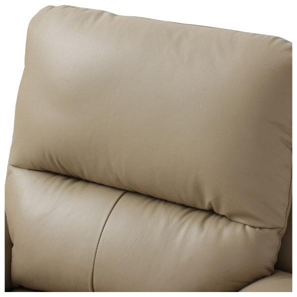◎半皮1人用電動可躺式沙發 N-BEAZEL MO NITORI宜得利家居 5