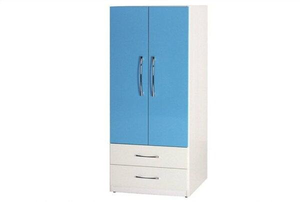 【石川家居】829-09(藍白色)衣櫥(CT-113)#訂製預購款式#環保塑鋼P無毒防霉易清潔