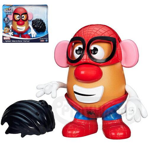 【Playwoods】[兒樂寶PLAYSKOOL] 漫威英雄蛋頭組:蜘蛛人 Mr. Potato Head - Spider Man (玩具總動員/孩之寶Hasbro/迪士尼/皮克斯/蛋頭先生/超級英雄/Marvel/復仇者聯盟/Spider Strike/Marvel超人/漫威宇宙/電影/公仔/驚奇再起2 )