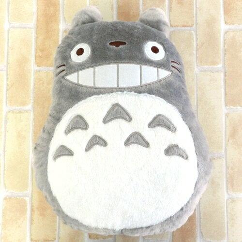 【真愛日本】14021000006 造型低反壓抱枕-灰龍貓 龍貓 TOTORO 豆豆龍 靠枕 造型枕 正品
