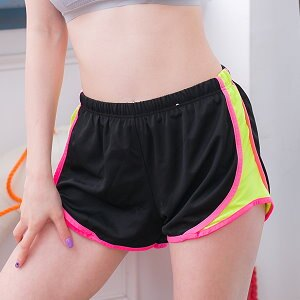 波波小百合美~N X 90~女糖果色透氣 短褲 跑步短褲 瑜伽短褲 吸濕排汗 快乾 超輕