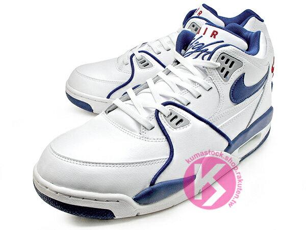 2020 NSW 與 AIR JORDAN 4 IV 同鞋型 1989年 經典復刻 NIKE AIR FLIGHT 89 '89 白深藍 皮革 AJ (CN5668-101) 0120 1