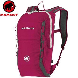 Mammut 長毛象Neon Light 輕量後背包/登山攻頂包/攀岩背包 12升 2510-02490 3418 洋紅