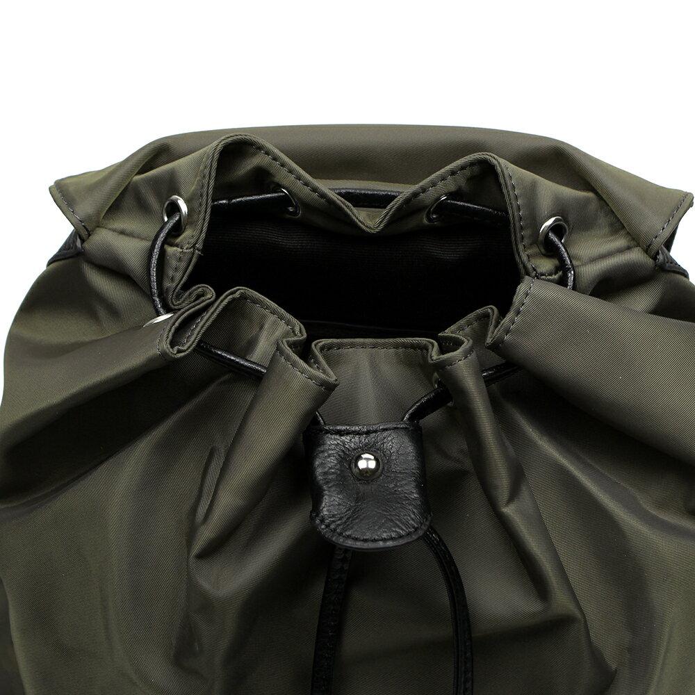 【BEIBAOBAO】倫敦學院防水布配真皮後背包(共兩色:時尚黑) 7