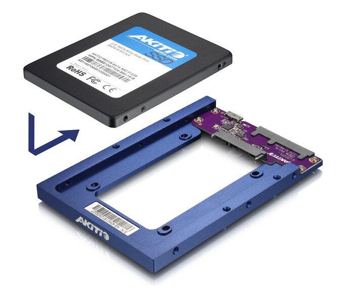 AKiTiO Neutrino Bridge USB3.1(NEUB-U3AB-AKT)外接硬碟支架