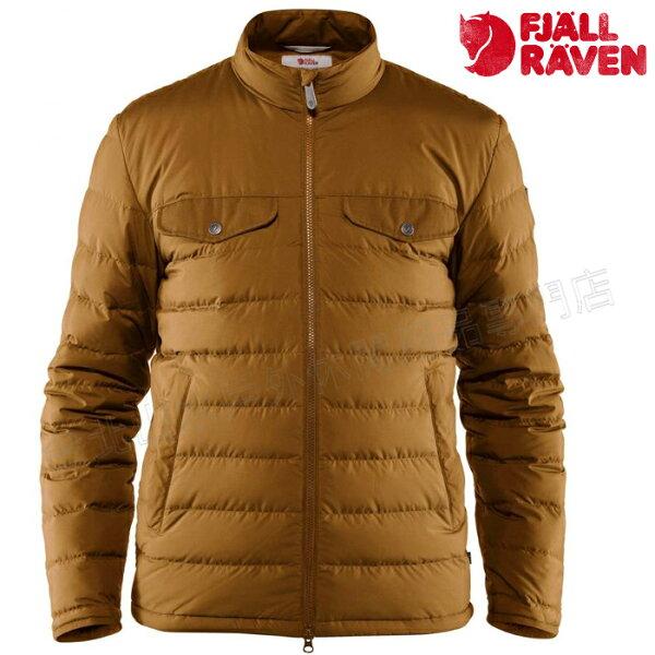 Fjallraven瑞典北極狐羽絨夾克保暖外套軍裝穿搭87126166男款橡子GreenlandDownLinerJacket台北山水