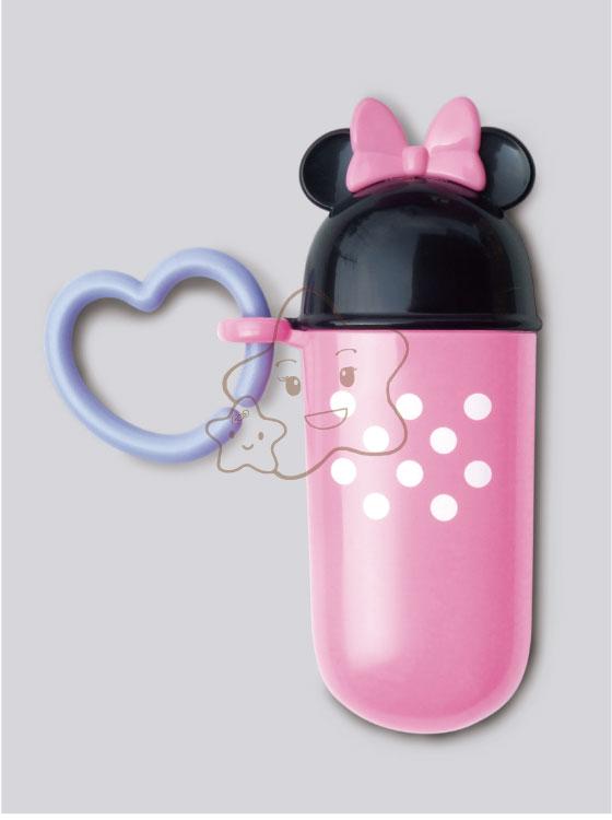 【大成婦嬰】日本超人氣 Disney 米妮零食收納罐(細長盒) 系列 (1入) 隨機出貨 0