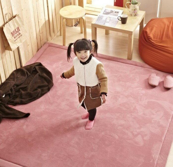 客製訂作  新款加厚2.5cm日本160*160 CM 纖細超厚珊瑚絨地毯 地墊 爬行墊 遊戲墊 加厚地毯  (客製訂作款)