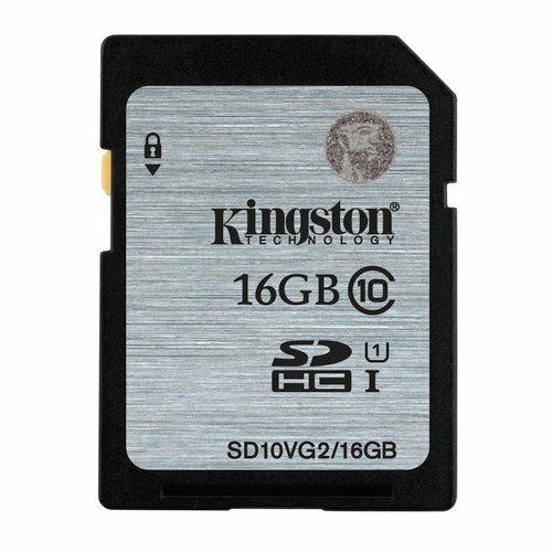 【新風尚潮流】金士頓 記憶卡 SD 大卡 16GB SDHC C10 U1 讀80MB/s SDS/16GB