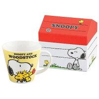 史努比Snoopy商品推薦,史努比馬克杯推薦到馬克杯史努比 SNOOPY +屋型盒(黃)【尋寶生活小舖】