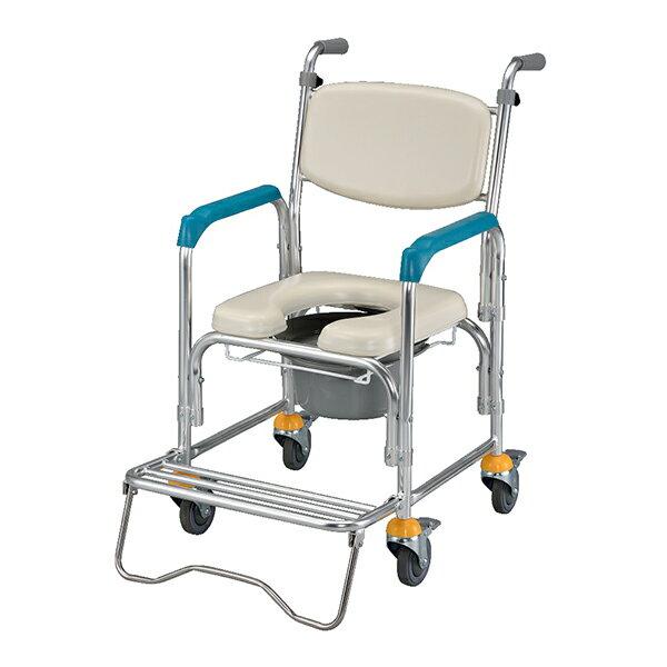【光星NOVA】附輪洗澡椅馬桶椅。鋁合金NCS-012B/ 不鏽鋼NCS-012