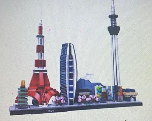 [COSCO代購] W129490 Lego 建築系列東京