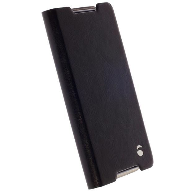 (贈32G記憶卡)Krusell 側掀皮套/SONY Xperia Z5 Compact/黏式皮套/手機套【馬尼通訊】