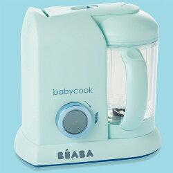 法國【BEABA】BabyCook Solo 嬰幼兒副食品調理器-馬卡龍藍