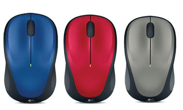 全館最低限時下殺!!! 羅技 Logitech M235 無線滑鼠 M235 Wireless Mouse Unifying 接收器 僅需單顆3號AA電池