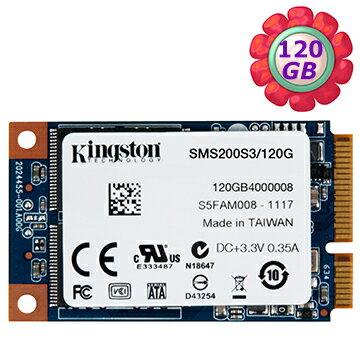Kingston SSD 120GB MS200 mSATA【SMS200S3/120G】SATA 6Gb/s 固態硬碟