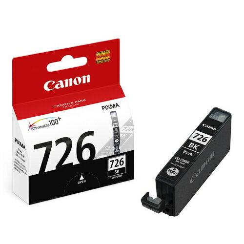 CANON CLI-726BK 原廠淡黑色墨水匣 CLI-726 BK 適用 ix6560