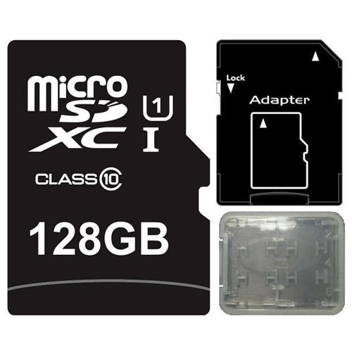 Major OEM 128GB 128G microSDXC UHS-I 70MB/s Class 10 microSD micro SD SDXC Flash Card + Memory Case 0
