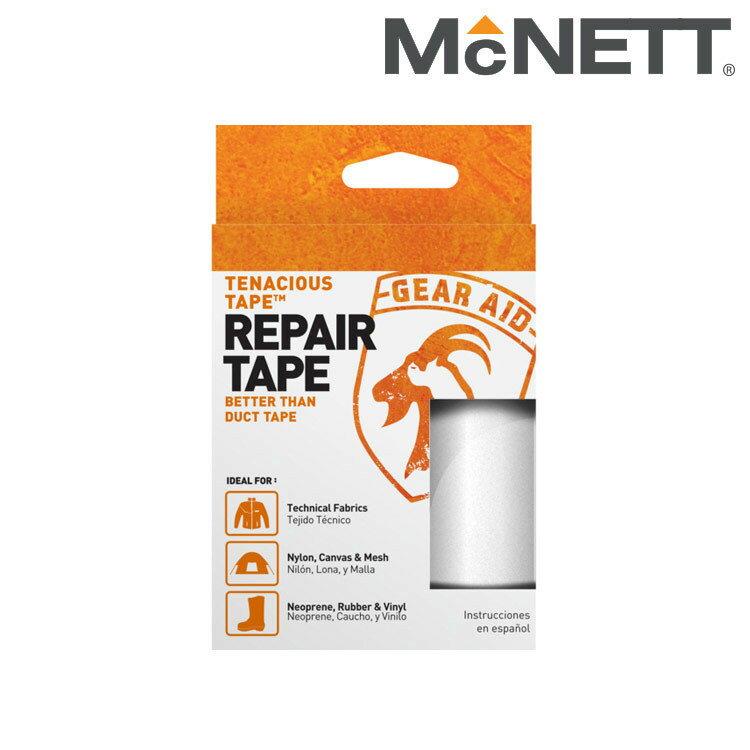 【【蘋果戶外】】McNETT Gear Aid 10691 美國 透明修補貼片/膠帶補丁 羽絨衣破洞/修帳篷/登山裝備維修 Tenacious Tape
