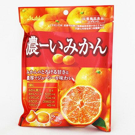 [敵富朗超市]Asahi濃厚橘子糖(87.4g)