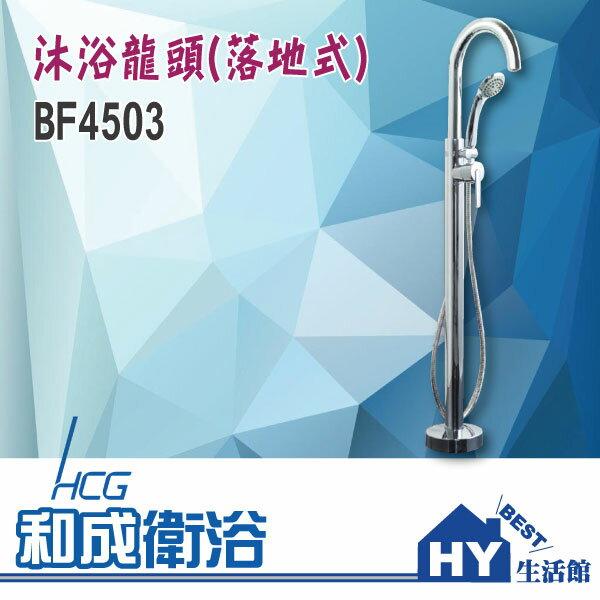 HCG 和成 BF4503 落地式沐浴龍頭 浴室龍頭 花灑龍頭組 -《HY生活館》水電材料專賣店