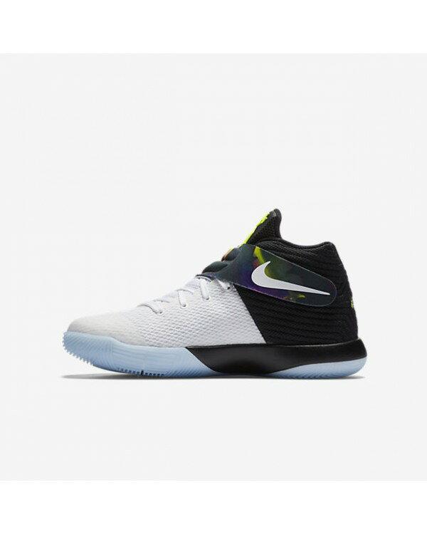 Nike KYRIE IRVING 2 GS 女鞋 大童 籃球 渲染 果凍底 白 黑 【運動世界】 826673-110【1月會員神券★消費滿1000結帳輸入序號New2018-100↘折100 | ..