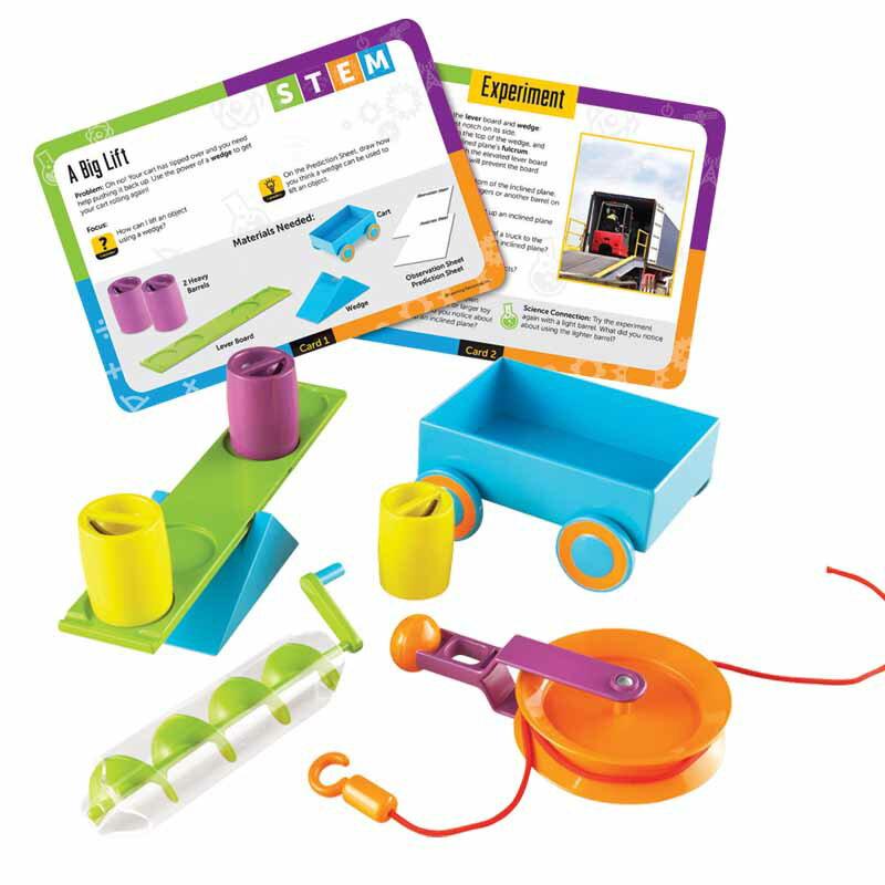 ~華森葳兒童教玩具~科學教具系列~滑輪機械學習組 N1~2824