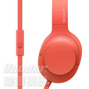 <br/><br/> 【曜德★好禮回饋】SONY MDR-H600A 紅 繽紛摺疊攜帶式 線控MIC 耳罩式耳機 ★ 免運 ★ 送收納袋+帆布手提袋<br/><br/>