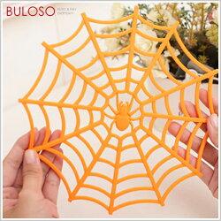 《不囉唆》 3色蜘蛛網隔熱墊 蜘蛛網杯墊/造型盤墊(不挑色/款)【A225816】