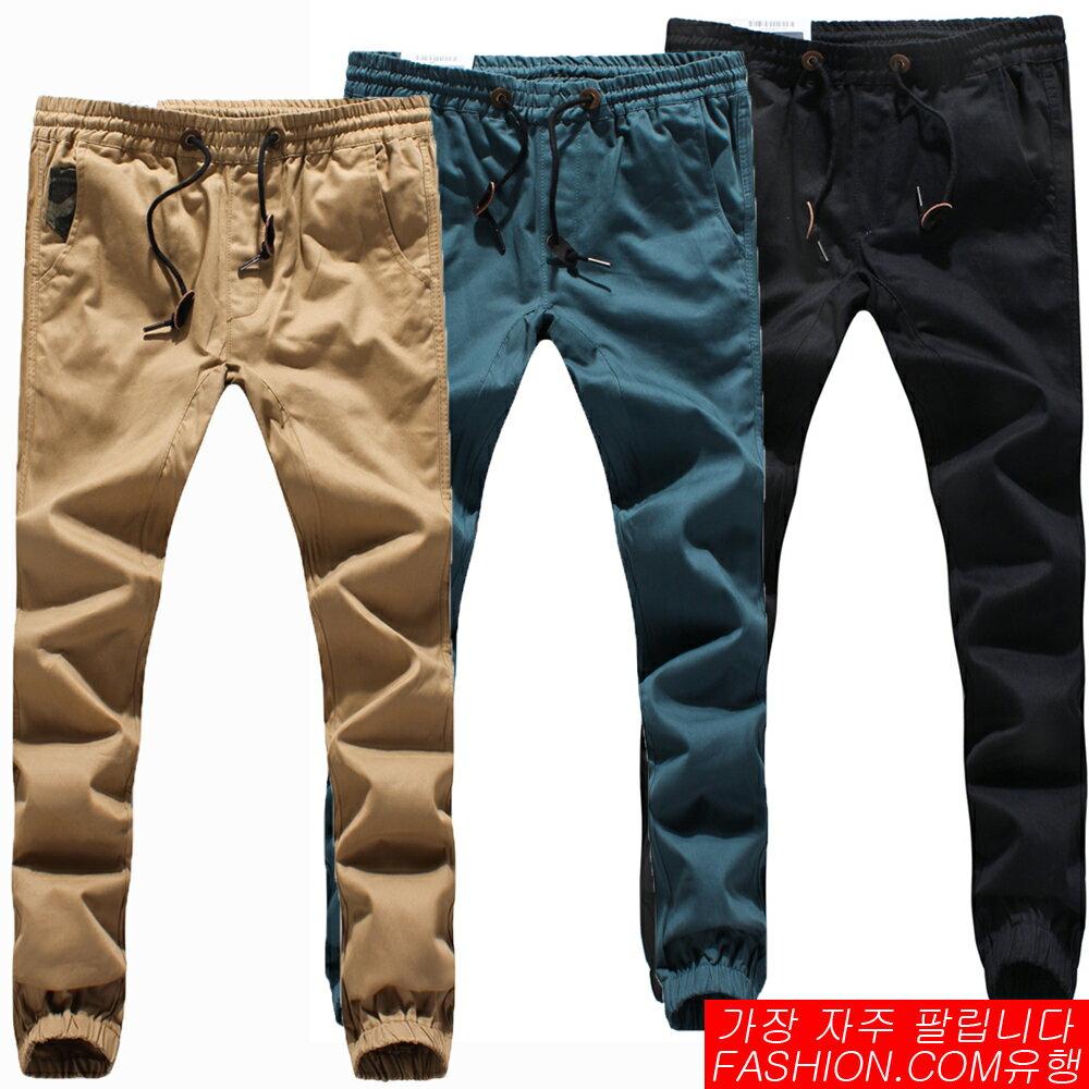 DITION  街頭潮流ROIAL黑標螺紋縮口工作褲-共四色 0