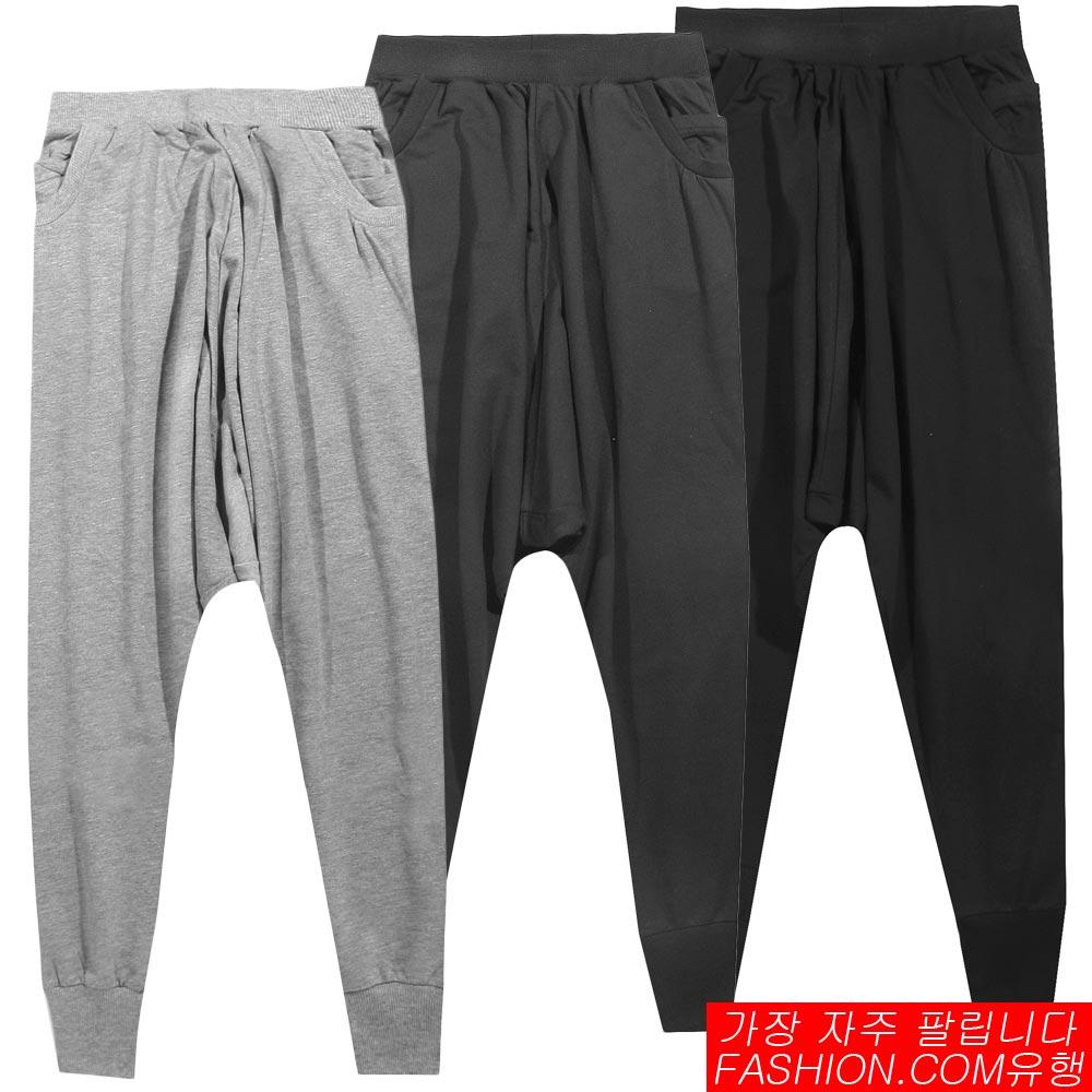 DITION 雙層螺紋大口袋低檔飛鼠褲-共三色 - 限時優惠好康折扣