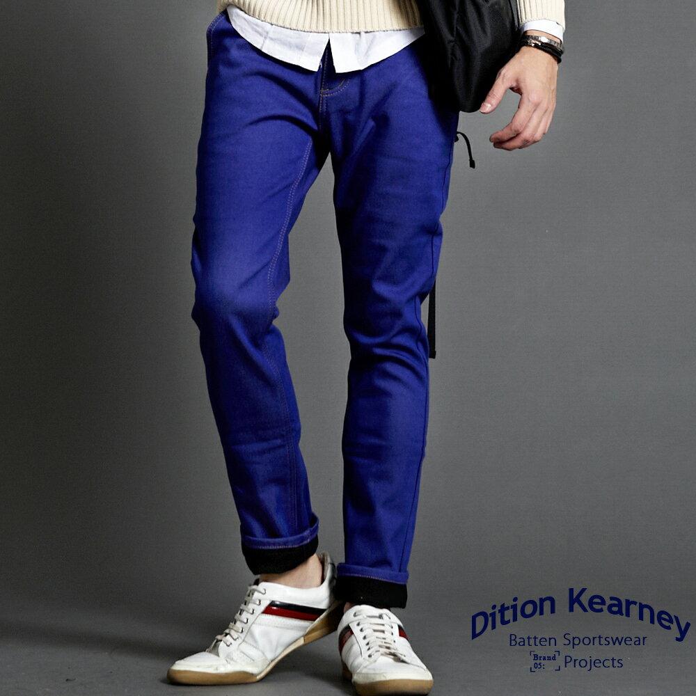 DITION   韓系彈力skinny四代內刷毛牛仔褲 有加大尺碼 0
